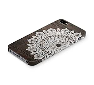 Cover Affair Mandala Printed Back Cover Case for Apple iPhone 4S