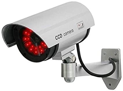 Outdoor Fake , Dummy Security Camera with Blinking: Amazon.in ...