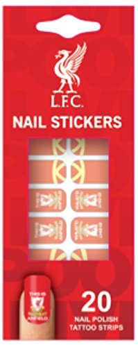 Official Liverpool FC Nail Stickers - This Is Anfield - Set of 20