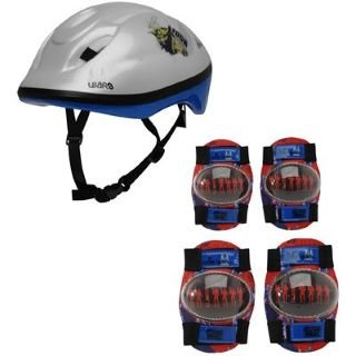Clone Star Wars Cycling Bike Skateboard Helmet Knee Elbow Pads Juniors Set