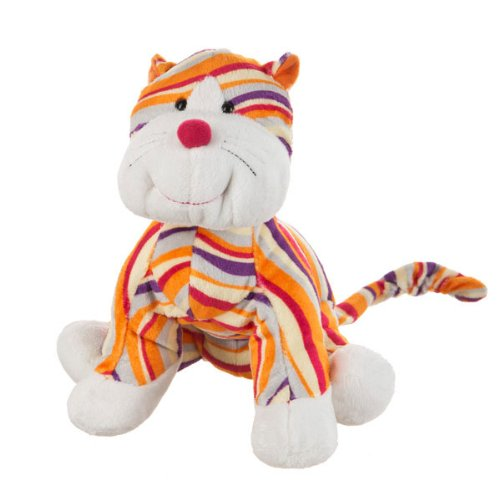 Ganz Webkinz Sriped Cheeky Cat Plush - 1