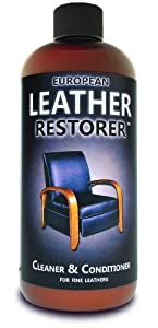 European Leather Restorer - Leather Cleaner & Conditioner 16 oz. by Pacific Leather Works