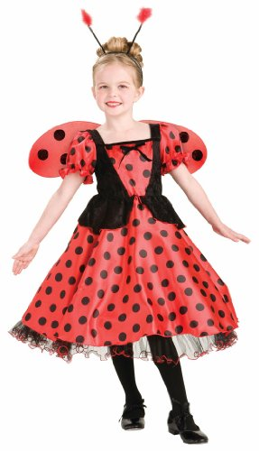 Lady Bug Princess Costume, Child's Small