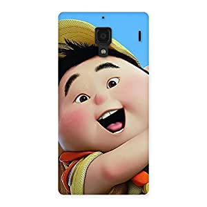 Ajay Enterprises Cuty Boy Look Up Back Case Cover for Redmi 1S