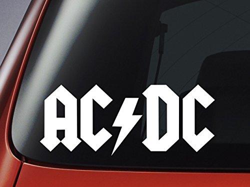 """In vinile, motivo """"AC/DC Logo-auto, finestra, da parete, per Laptop"""""""