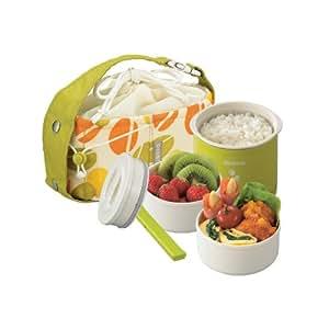 Zojirushi Mini Stainless Thermal Lunch Box, Green