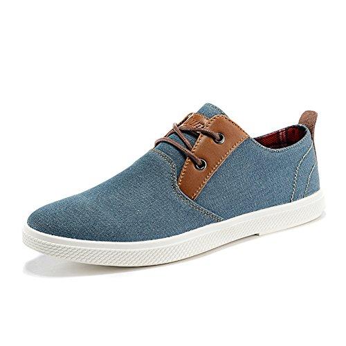 Hommes chaussures de toile/Coupe-bas chaussures/Chaussure respirante/[Les souliers]/Chaussures denim d'été