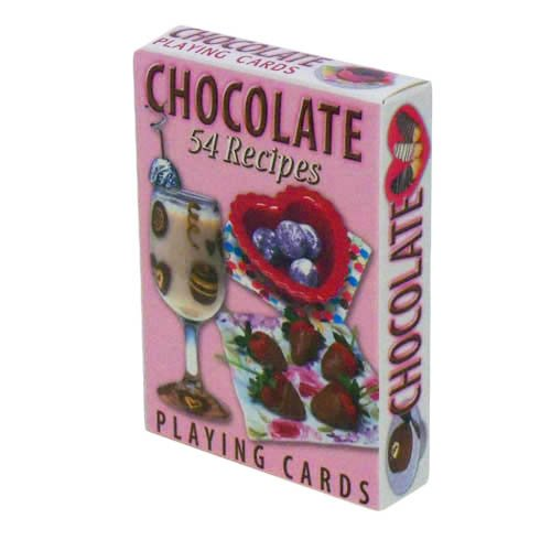 Chocolate Recipes Playing Cards - Deck of 54 Cards - 1