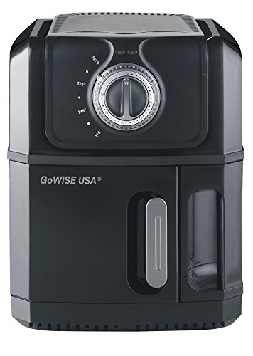 GoWISE USA Large Electric Air Fryer 3.2 QT Black