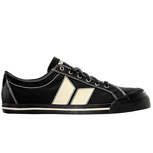 MacBeth - Eliot Vegan Black & Cement Shoes
