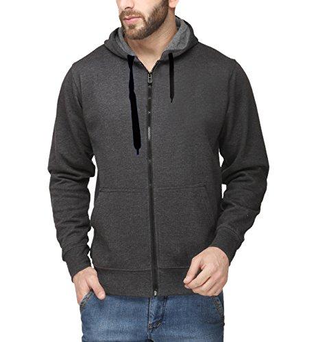 Scott-Mens-Premium-Cotton-Pullover-Hoodie-Sweatshirt-with-Zip-Charcoal-Grey-sshz1