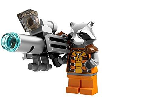 LEGO Rocket Raccoon Super Heroes Guardians of the Galaxy Minifigure - 1