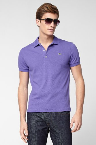 Short Sleeve Stretch Pique Polo