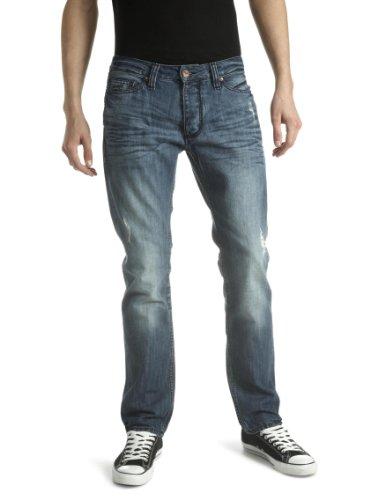 Antik Denim Men's Straight Jeans Faded Blue 29W x 32L