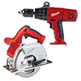 Factory-Reconditioned Milwaukee 0904-88 18-Volt Cordless 2-Tool Combo Kit