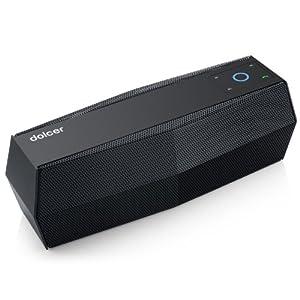 Dolcer?AirNotes?portabler?aufladbarer?Lautsprecher?mit?Touch?Control?Bluetooth?Lautsprecher,?wireless?Speaker?mit?Bluetooth?und?Mikrofon?Spielt?Musik?von?Micro?SD?Karten?und?USB?Sticks?ab,?FM?Radio?Funktion?-?Farbe:?Wei??¡