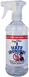 Mary Ellen Products I Hate Ironing Spray Wrinkle Remover, 16.9-Ounce