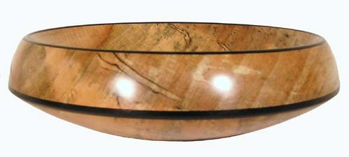 Spalted Maple Wood Bowl Wood Bowl Spalted Maple Wood