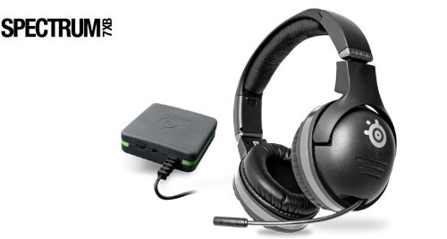 SteelSeries Spectrum 7xB Wireless Gaming Headset Xbox360