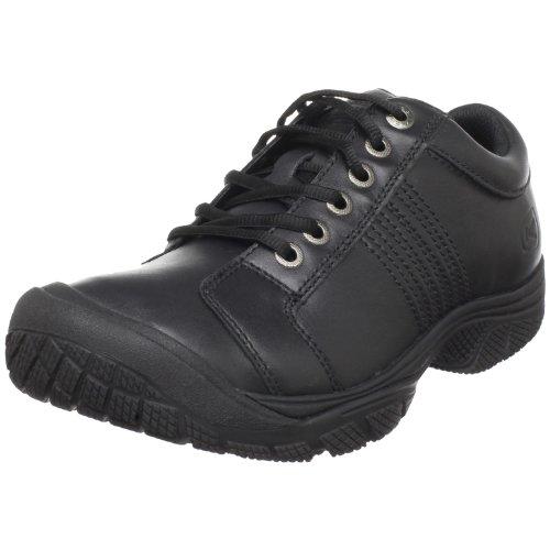 KEEN Utility Men's PTC Oxford Work Shoe,Black,9.5 M US (Black Restaurant Shoes compare prices)