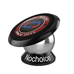 Nochoice Crazy Mount Magnetic Car Phone Holder 42mm Senior (Black)