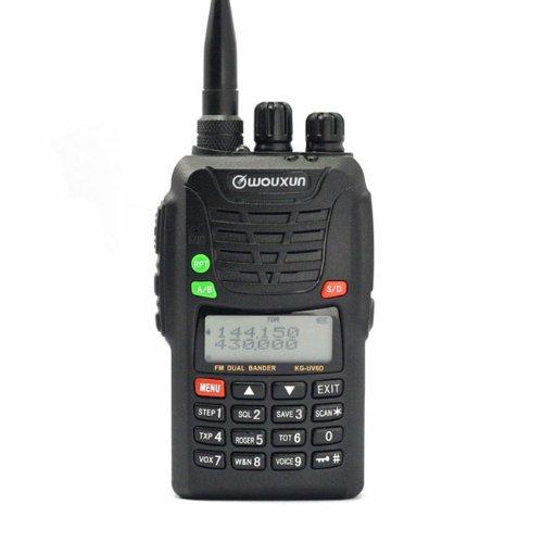 Wouxun Kg-Uv6D Vhf/Uhf 136-174/420-520 Mhz Dual-Band Dtmf Ctcss Ham 2-Way Radio + Usb Programming Cable For Baofeng Uv-5R/ Wouxun Uvd1P/ Uv6D Two Way Radio