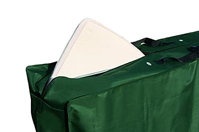 Brema Schutzhülle für Auflagen aus Polyester-Gewebe Oxford 420D, 130 x 32 x 50 cm