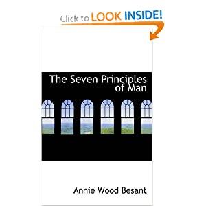Amazon.com: The Seven Principles of Man (9780559864278): Annie ...