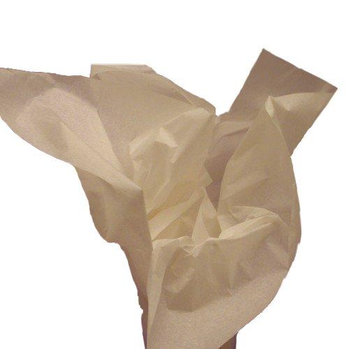 Dress My Cupcake DMC79489 100-Piece Tissue Paper, 20 by 14-Inch, Ivory