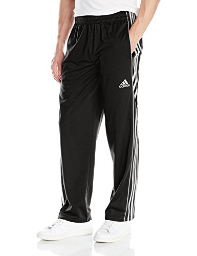 adidas Performance Men's Downtown Pant, Black/Black/White, X-Large