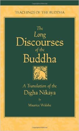 The Long Discourses of the Buddha: A Translation of the Digha Nikaya (Teachings of the Buddha)