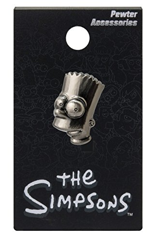 Simpsons The Bart Pewter Lapel Pin Action Figure - 1