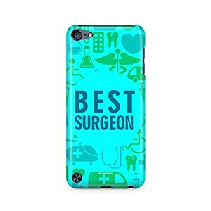 Motivatebox- Best Surgeon - for the life saviour Apple Ipod Touch 6th Generation cover -Matte Polycarbonate 3D Hard case Mobile Cell Phone Protective BACK CASE COVER. Hard Shockproof Scratch-