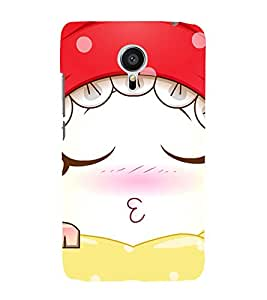 Cute Sleeping Girl 3D Hard Polycarbonate Designer Back Case Cover for Meizu MX5