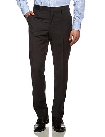 Tommy Hilfiger Tailored - Rhames - Pantalon de costume - Homme - Gris (Anthrazit 028) - FR: W28 (Taille Fabricant: 28)