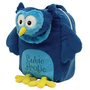 Laid Back Kids Cutie Hootie Snuggle Backpack