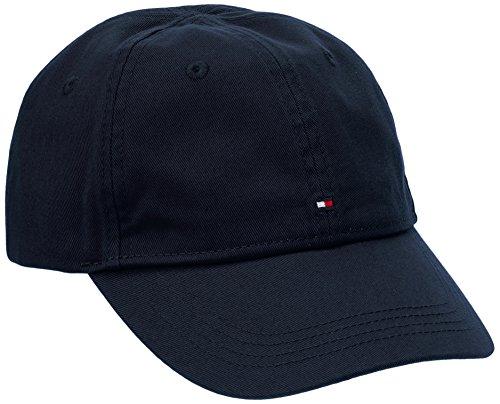 Tommy Hilfiger - BASIC CAP, Cappellopello Bambino, Blu (Black Iris 002), 16 anni (Taglia Produttore: XL)