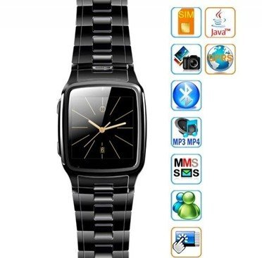 Tw810 - 1.6 Inch Unlocked Watch Cell Phone (Java,