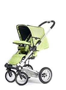 Mutsy 4Rider Light Stroller, Team Lime (Discontinued by Manufacturer)