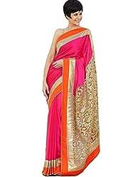 Krishna Emporia Pink Bollywood Saree