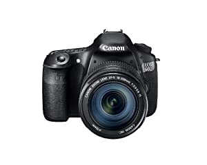 Canon EOS 60D 18 MP CMOS Digital SLR Camera with 3.0-Inch LCD and EF-S 18-200mm f/3.5-5.6 IS Standard Zoom Lens