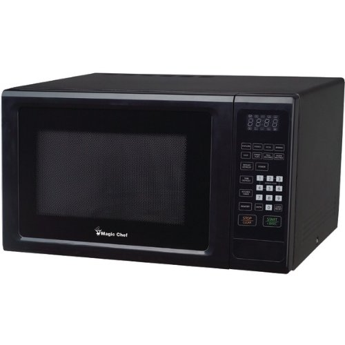 The Amazing Magic Chef 1.1Cf 1000W Microwave Blk