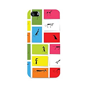 Ebby Dog Dimensions Print Premium Printed Case For Apple iPhone 5/5s
