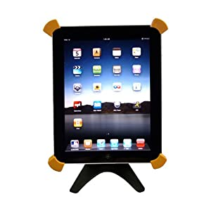 GSI Super Quality Desktop Folding Aluminum Stand for Apple iPad Tablet, iPad 2, Rotating Docking Station, Sturdy Cradle - For Travel Or Home Use