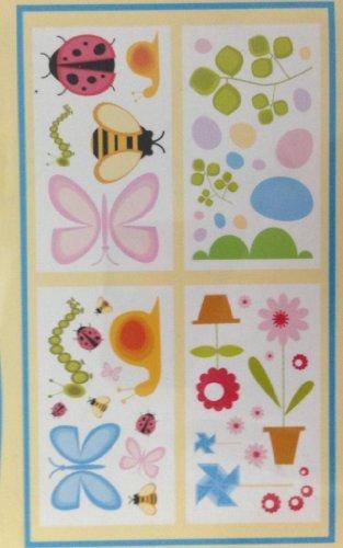 Project Decor Nursery Appliques Butterflies Ladybugs & More