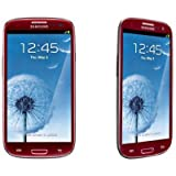 Samsung Galaxy S III/S3 GT-I9300 Factory Unlocked Phone - International Version (Garnet RED))