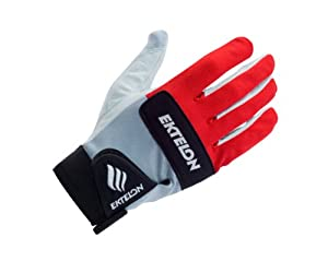 Ektelon Controller II Racquetball Glove (Red/White/Black, Right Hand, Large)