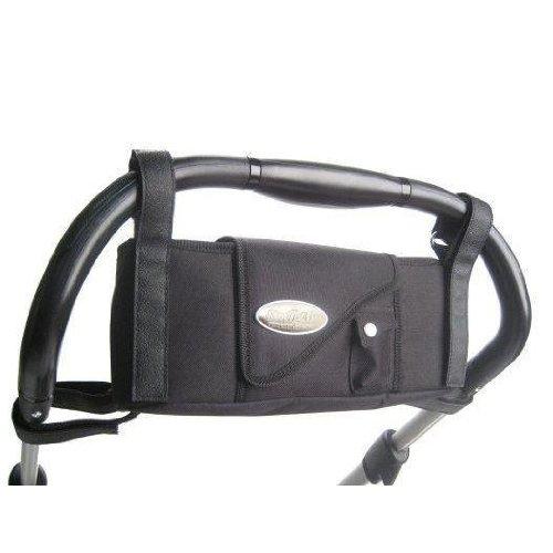 Stroll-Air Stroller Organizer, Console Black