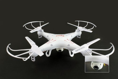 Syma X5C 4 Channel 2.4GHz RC Explorers Quad Copter w/ Camera by Syma