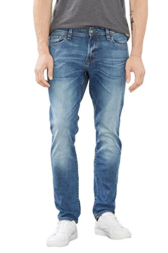 edc by ESPRIT 086CC2B004, Blu Uomo, Blu (BLUE MEDIUM WASH), W30/L30